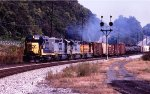 CSX 2292 road slug west